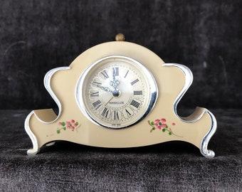 Vintage miniature Westclox dresser alarm clock