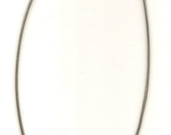 18 inch Sterling Silver 3 mm Snake Chain Necklace with Lobster Clasp