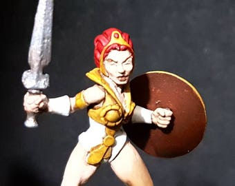 Teela 32mm pewter miniature