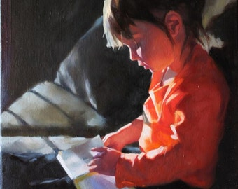Custom Oil Painting Portrait From Your Photo