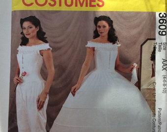 McCalls Costumes 3609