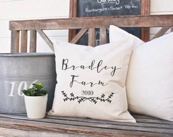 Custom Pillow Covers, Decorative Pillows, Designer Pillow, Throw Pillow, Quote Pillow, Custom Phrase,