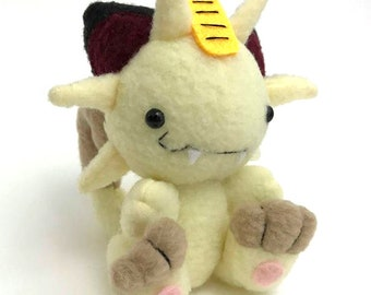 Derpy Meowth Plush