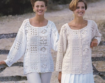 Womens crochet cardigan sweater jacket pdf INSTANT download pattern only pdf ONE SIZE