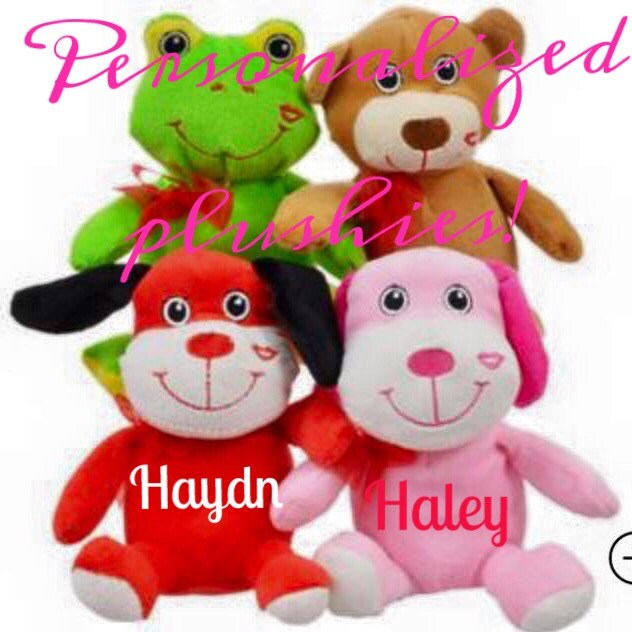 personalized valentine plushes-stuffed animals-party, Ideas