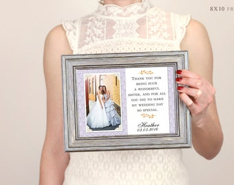 Sister Gift, Bridesmaid Gift, Best Friend Gift, Will You Be My Maid Of Honor, Maid Of Honor Gift, Cousins, Personalized Picture Frame