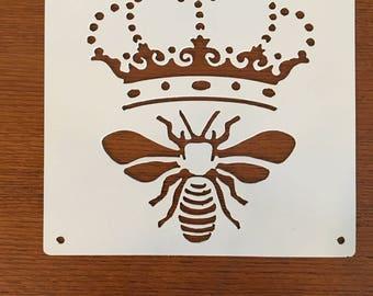 Queen Bee Wall Hanging (Steel)