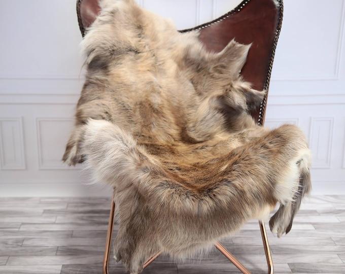 Reindeer Hide | Reindeer Rug | Reindeer Skin | Throw XL  EXTRA Large - Scandinavian Style #20RE5