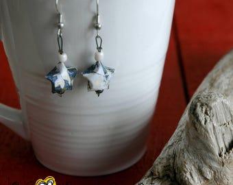Origami (Star) - E004 earrings