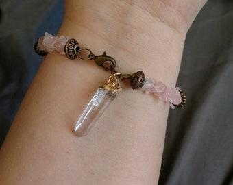 Rose Quarts (Quartz) Bracelet