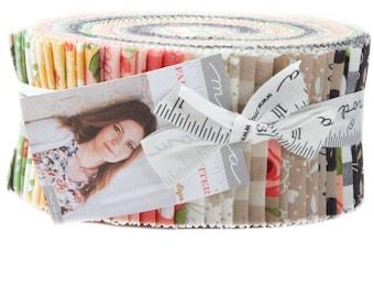 "Moda FARMER'S DAUGHTER Jelly Roll 5050JR 40 2.5"" Fabric Strips By Lella Boutique"