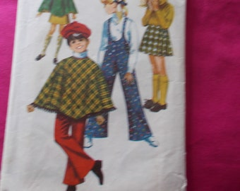 vintage simplicity sewing pattern girls size 10 8425