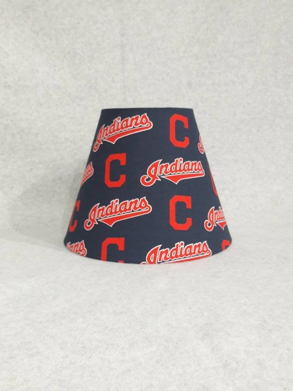 Cleveland indians lamp shade baseball mozeypictures Image collections