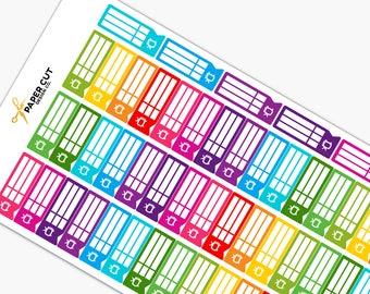 Carpe Diem Planner - TV SCHEDULE Planner Stickers