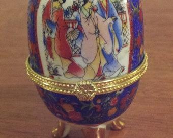 Decorative Ceramic Egg