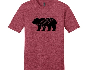Science Shirts Men, Science Shirts Women, Bear Shirt, Grizzly Bear Scientific Name, Nerdy Shirts