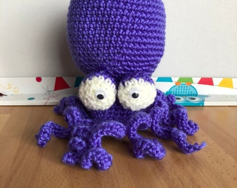 Mini Purple Octopus