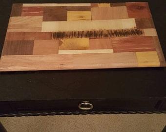 Custom Multi wood Cutting Board