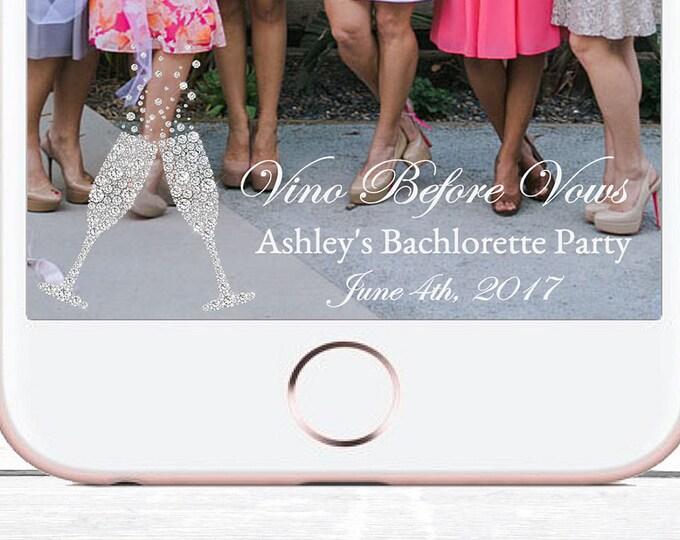 Bachelorette Snapchat Geofilter, Bridal Shower Snapchat Geofilter, Wine Shower Geofilter, Wine Snapchat, YOU EDIT, Bachelorette Filter, DIY