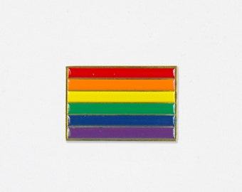 Gay Pride Soft Enamel Lapel Pin - Feminist
