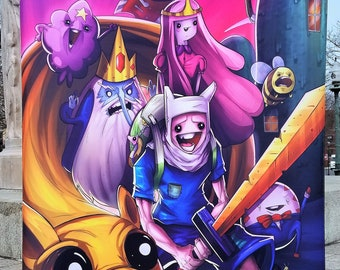 60% SUMMER SALE Adventure Time Tapestry