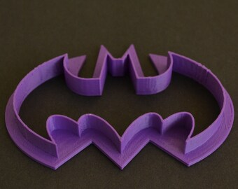 3-D Printed Batman Cookie Cutter
