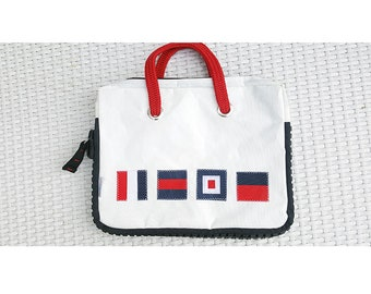 Waterproof Recycled SailCloth Laptop Bag