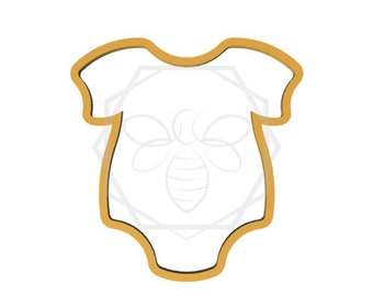 Chubby Baby Romper Cookie Cutter