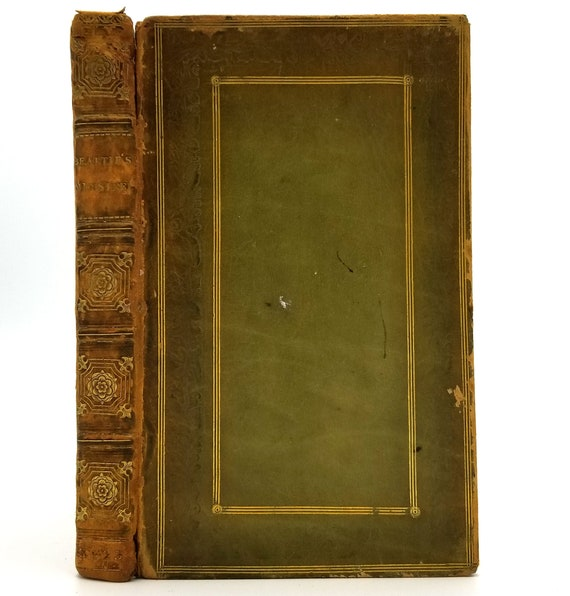 The Minstrel; or, The Progress of Genius and Other Poems by James Beattie 1823 Hardcover HC - John Sharpe London