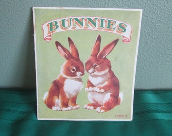 Bunnies A Linenette Book Sam'L Gabriel Sons & Company