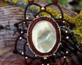 Macrame Mandala Necklace ...