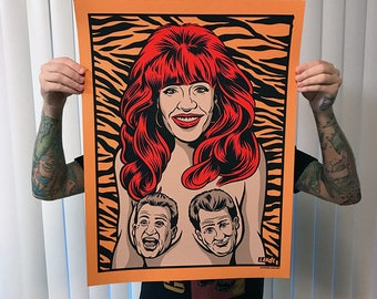 Peg Bundy - Screen Printed Posted