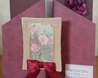 Wishing you a wonderful birthday Downton abbey card