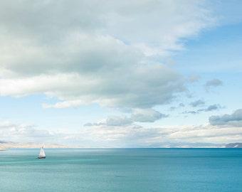 Bear Lake Blue Waters-  Landscape Utah Photography  10x20