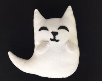 Ghost Cat Plushie