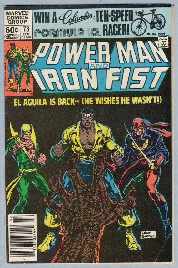 Power Man and Iron Fist 78 Feb 1982 FI+ (6.5)