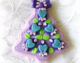 Handcrafted Clay Adornment