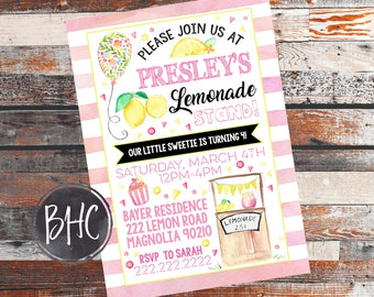 Lemonade stand Party. Lemonade stand Birthday. Lemonade Birthday Invitation. Lemonade Birthday Invite. Lemonade Stand Invitation. Birthday.