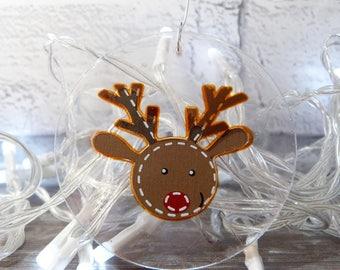 Reindeer, Reindeer Baubles, Christmas Baubles, Christmas Reindeer, resin Reindeer Baubles, Christmas Decor, Reindeer Decor