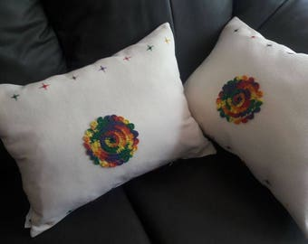 Embriodery Decorative pillows