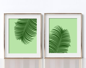 Fern Poster Digital Download Fern Print Fern Printable Botanical Printable Botanical Poster Tropical Printable Tropical Poster Tropical Art