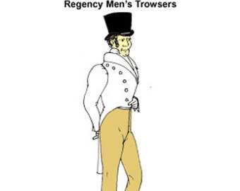 Regency Trowsers Pattern