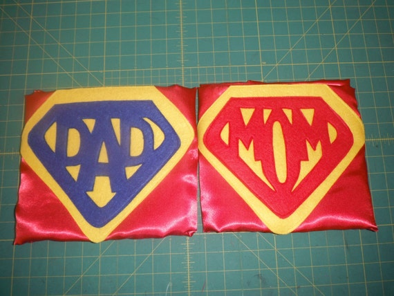 Supermom or Superdad large, adult cape