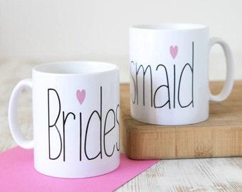 Bridesmaid | Bridesmaid Mug | Bridesmaid Gift | Be My Bridesmaid | Bridesmaid Thank You