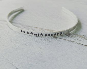 Gilmore Girls, Gilmore Girls in omnia paratus, gilmore girls jewlery, Gilmore Girls bracelet