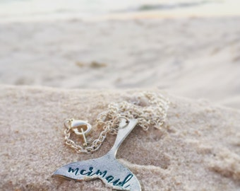 Little Mermaid Tail Necklace