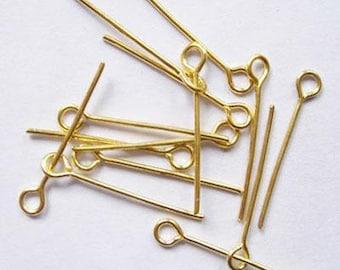Nails eyelet metal 70x0.7 mm hole: 2 mm, 50 pCs