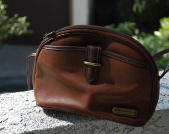 Vintage Brown Leather Liz Claiborne Purse