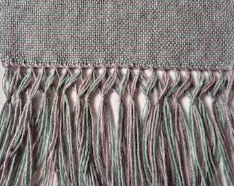 Handwoven scarf, handspun scarf, women scarf, xmas gift