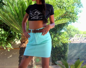Mini skirt//Best Company vintage skirt//